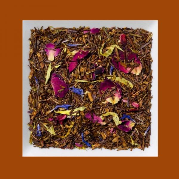 Passionsfrucht-Mango. Aromatisierter Rooibusch-Tee