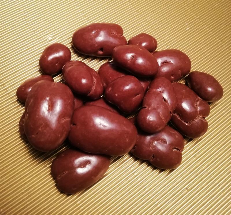 Pecannüsse mit Vollmilchschokoladen Butterscotch-Art