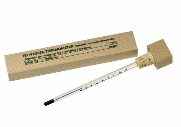 Teewasser-Thermometer.
