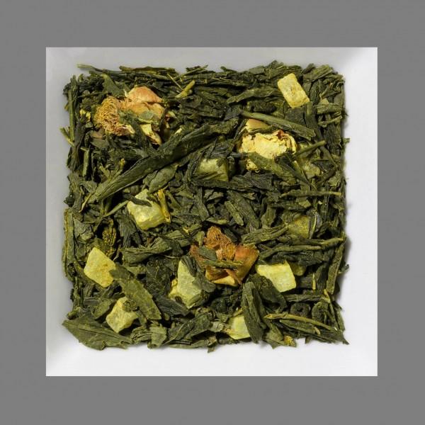 Kurkuma/Ananas Natürlich aromatisierte Grüntee-/Früchtemischung