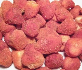 Erdbeeren gefriergetrocknet naturrein