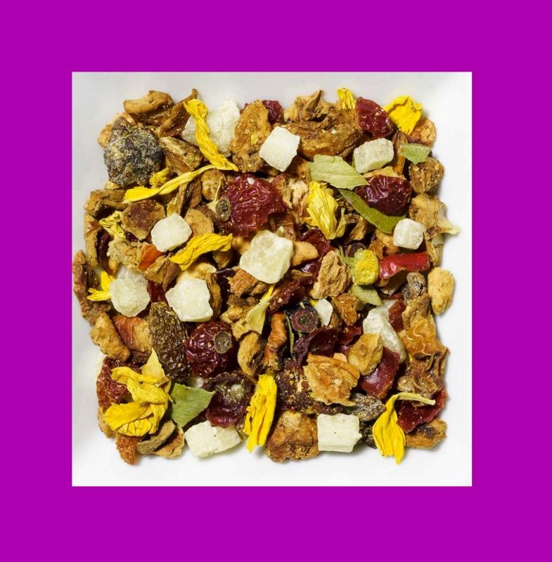 Pfirsich-Ananas Aromatisierte Früchteteemischung
