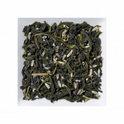 Weisser Tee Lavendel