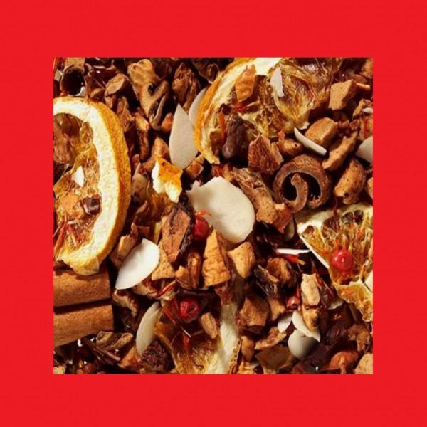 Orange-Marzipan-Schoko-Note Früchteteemischung Fruchtengel