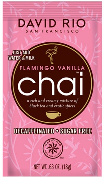 Flamingo Vanilla Chai David Rio 18g Beutel