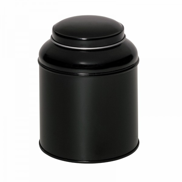 Domdeckeldose 125g schwarz