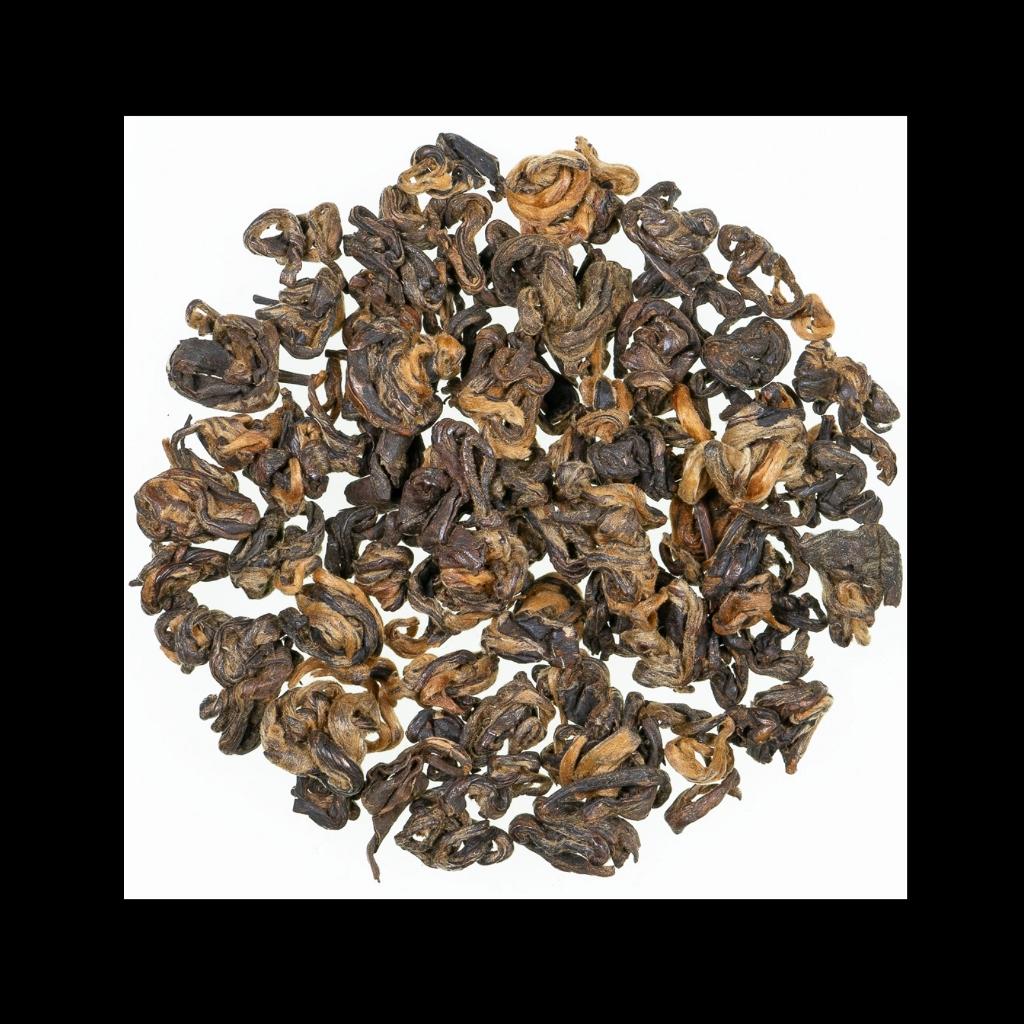 China Goldener Drache schwarzer Tee