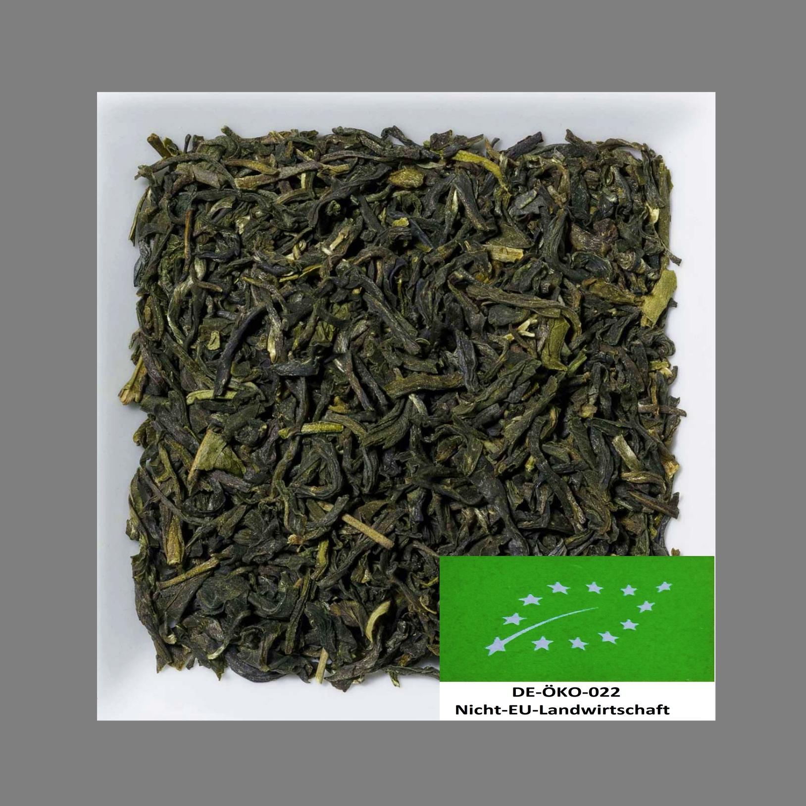 Jasmin Biotee DE-Öko-022 Grüner Tee