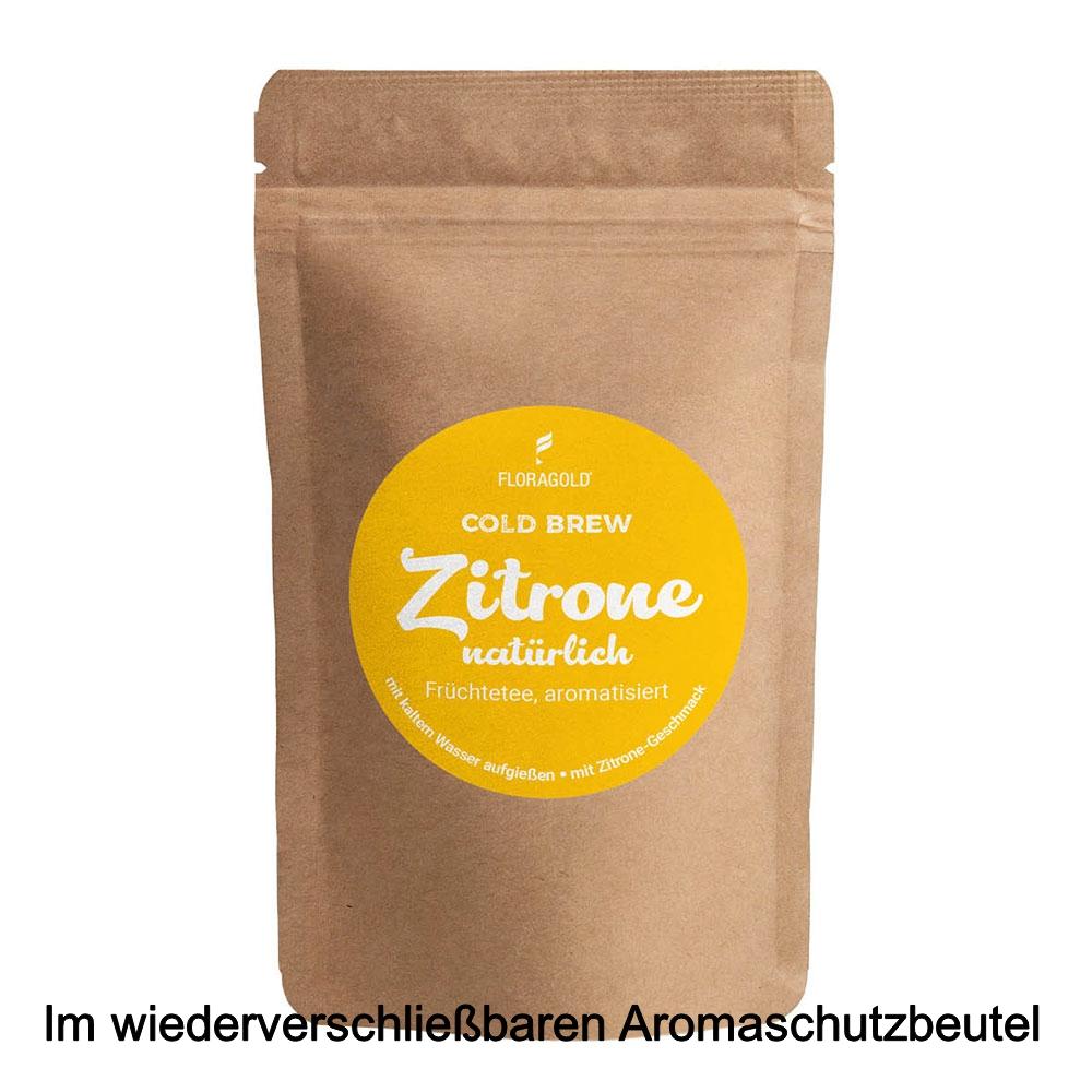 Cold Brew Zitrone natürlich aromatisierter Früchtetee