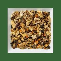 Wurzeln-Kurkuma-Zimt aromatisierte Kräuter-/ Gewürzteemischung