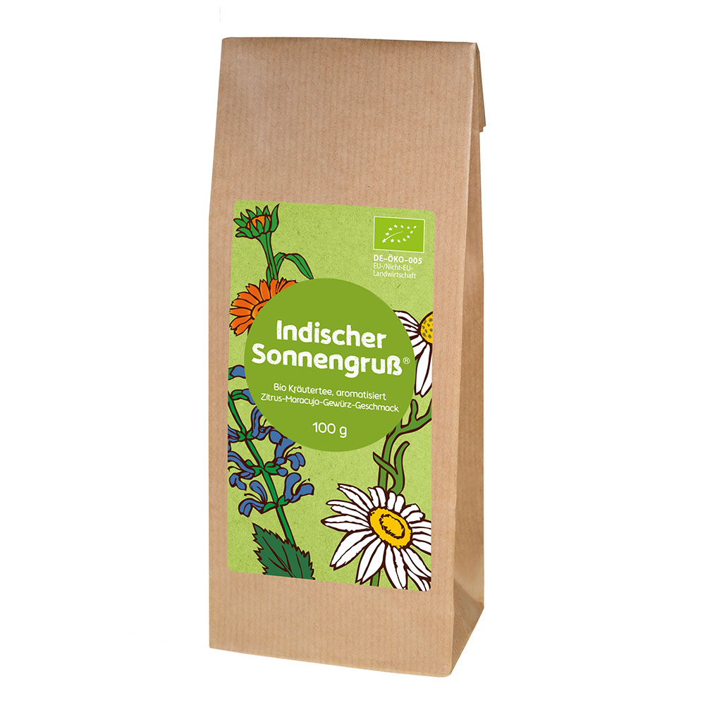 Indischer Sonnengruß®  Bio-Kräutertee DE-ÖKO 005