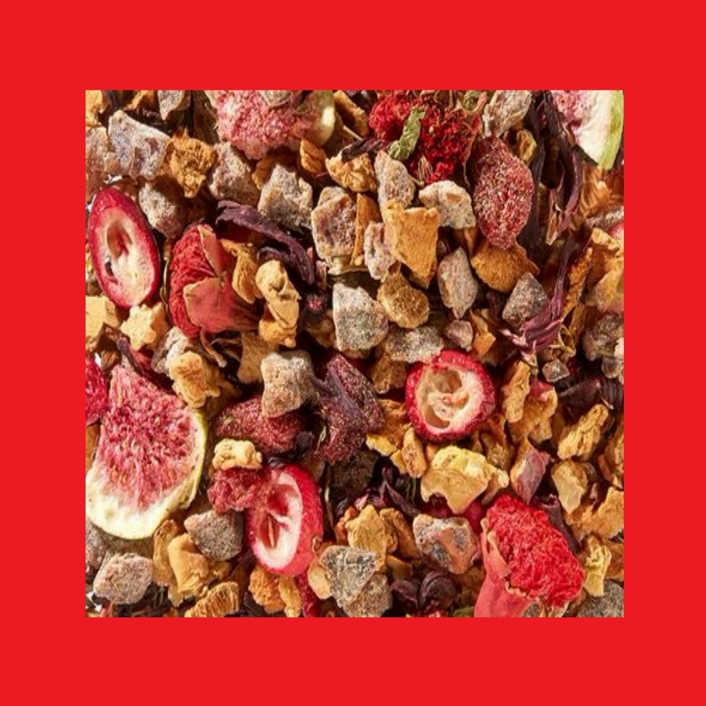 Ho ho Hot Cranberry-Dattel-Zimt-Note Früchteteemischung