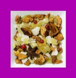 Mango-Sternanis-Kardamon Aromatisierte Früchteteemischung