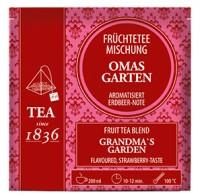 Erdbeer-Note Früchteteemischung Oma´s Garten aromatisiert
