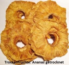 Ananas - naturrein ungeschwefelt