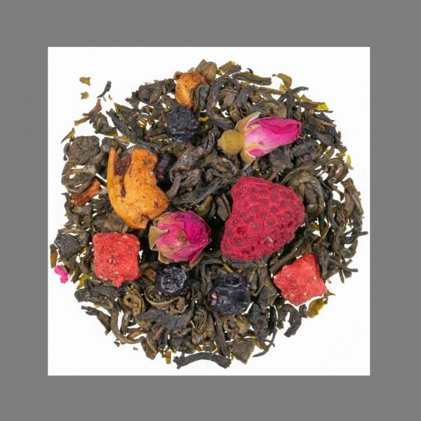 Drachenkönig® Teemischung mit Fruchstücken, aromatisiert