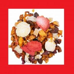 Erdbeer Popcorn Früchtetee