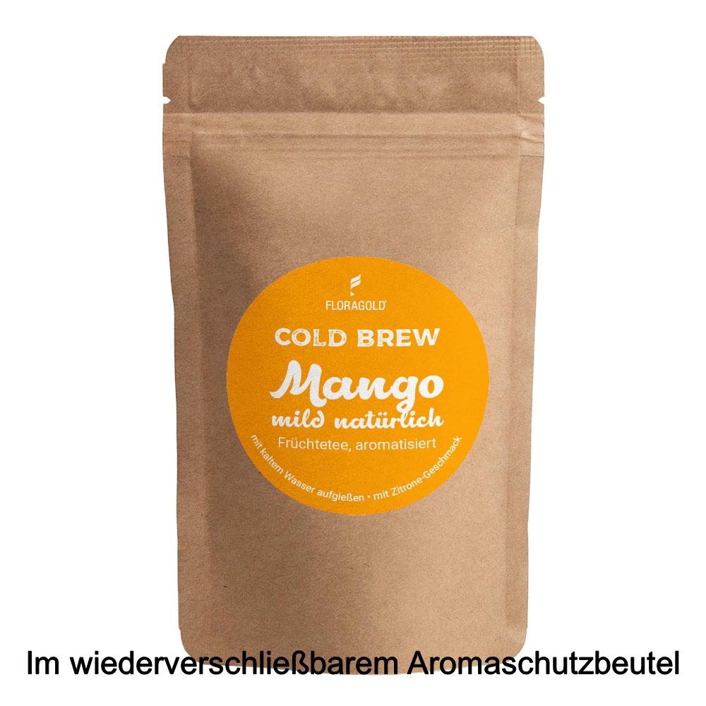 Cold Brew Mango natürlich aromatisierter Früchtetee