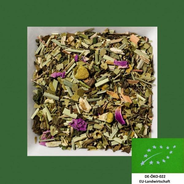 Fastenbegleiter Naturbelassene Kräuter Bioteemischung DE-Öko-022