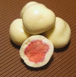 Erdbeeren in Yoghurtschokolade
