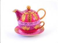 "Tea for one Set ""Alani"" Porzellan, 4-teilig"