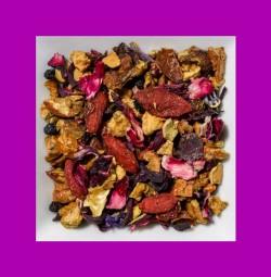 Gojibeeren-Apfel-Holunder aromatisierte Früchteteemischung
