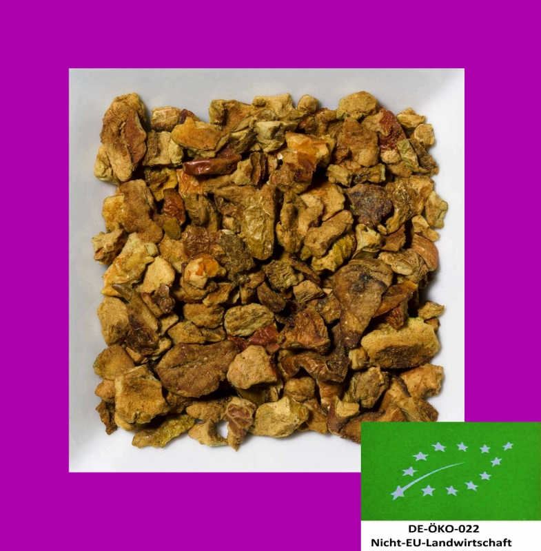 Apfel Biotee DE-ÖKO-022 aromatisierte Früchteteemischung