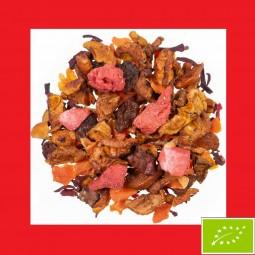 Erdbeer Vanille Früchtetee Bio DE-ÖKO 022