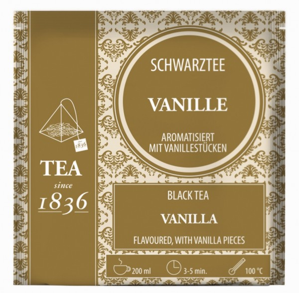 Schwarztee Vanille aromatisiert FS
