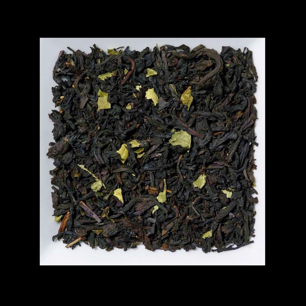 Schwarze Johannisbeere Aromatisierter schwarzer Tee
