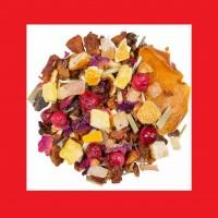 Persimone Pfirsich Früchtetee