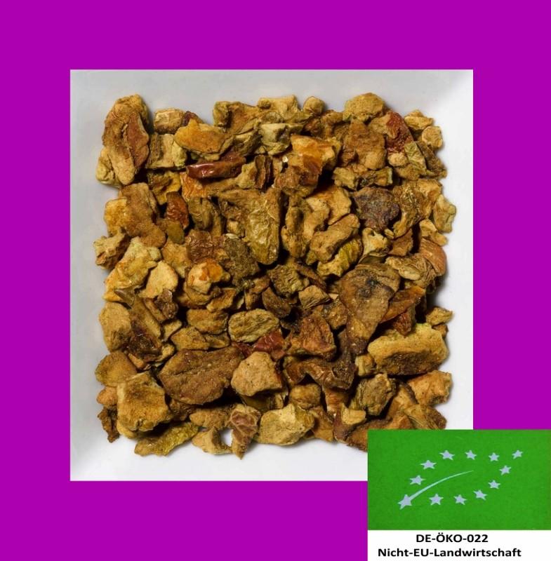 Apfel Biotee DE-ÖKO-022. Natürlich aromatisierte Früchteteemischung