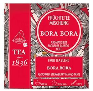 Erdbeer-Mango-Note Früchteteemischung Bora Bora