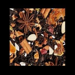 Mandarinen-Lebkuchen Parfait Schwarzteemischung