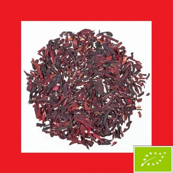 Hibiskusblüten geschnitten Bio DE-ÖKO 022