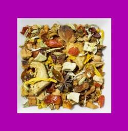 Birne-Sternanis aromatisierte Früchte-/Gewürzteemischung