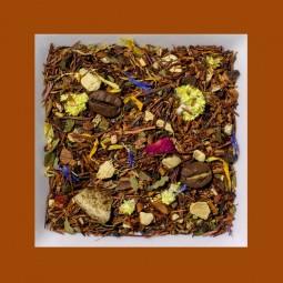 Karamell-Kaffee-Kardamon Chai aromatisierte Rooibusch-Tee-/Gewürzmischung