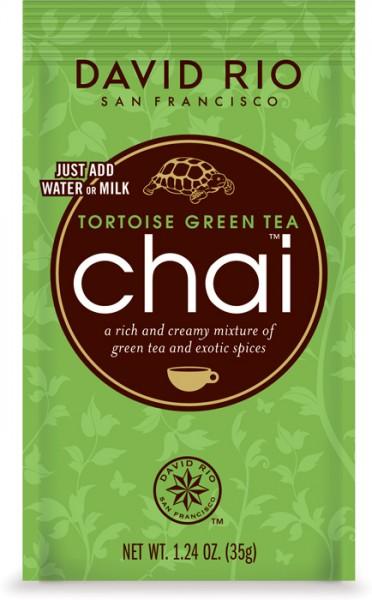 Tortoise Green Tea Chai David Rio 28g Beutel