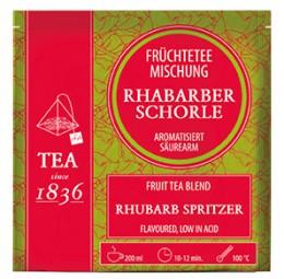 Rhabarberschorle Früchteteemischung Rhabarber-Note