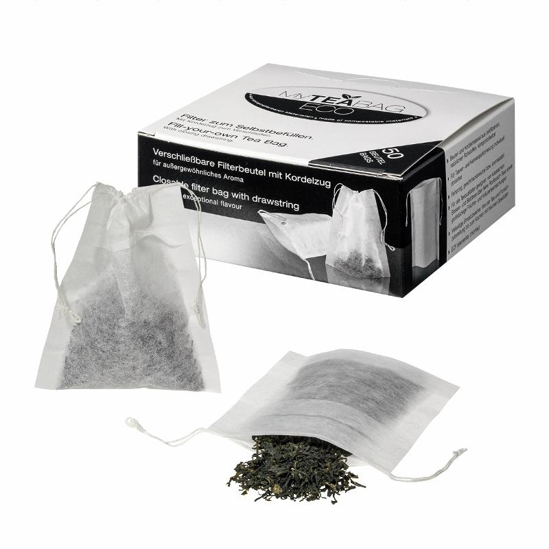 Teefilter zum Selbstbefüllen 50 Stück Packung