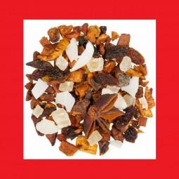 Kokos Vanille Früchtetee