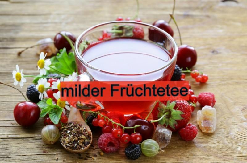 milder Früchtetee