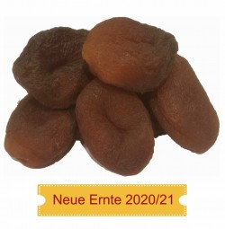 Aprikosen ungeschwefelt, naturrein Neue Ernte 2020/21 Originalkarton 5 kg