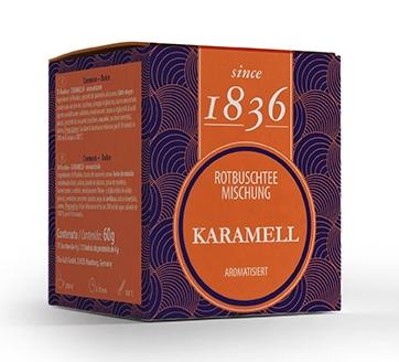 Rooibuschteemischung Karamell aromatisiert