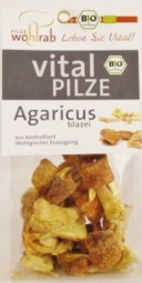 Agaricus blazei (Mandelpilz) Bio-Qualität
