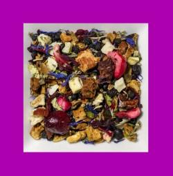 Exotische Früchte-Damiana aromatisierte Früchteteemischung