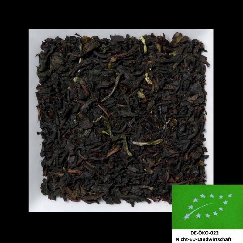 Earl Grey Leaf aromatisierter schwarzer Biotee