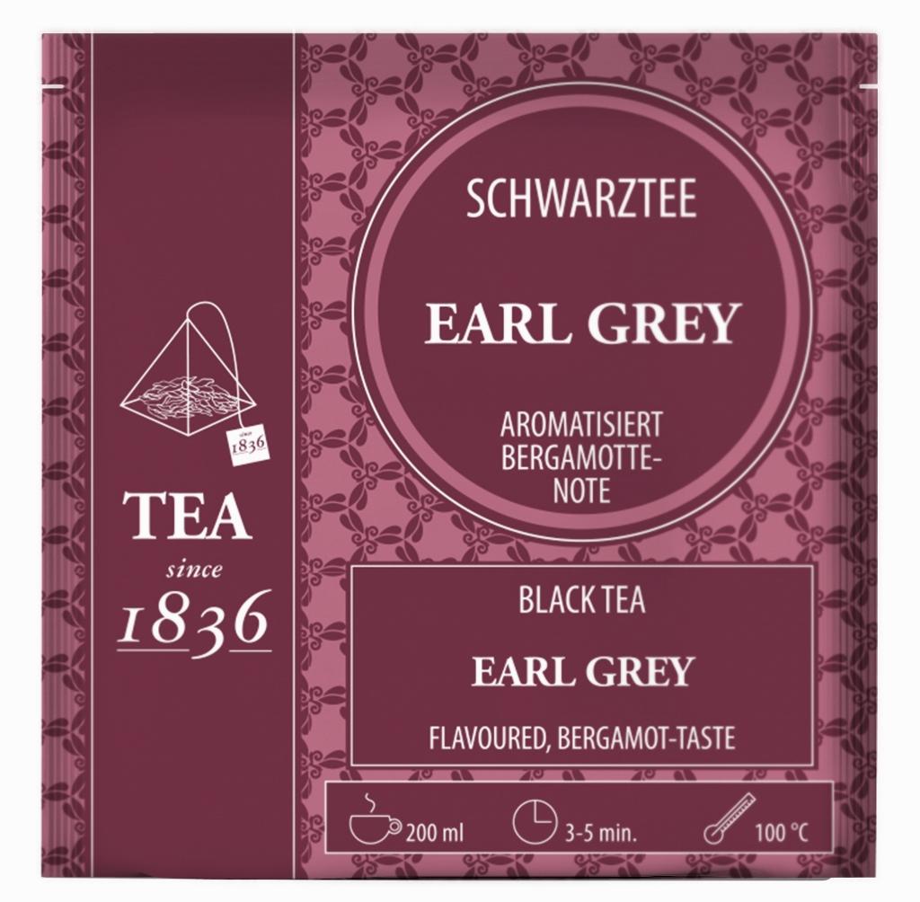 Earl Grey Bergamotte-Note Schwarztee