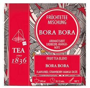Früchteteemischung Erdbeer-Mango-Note Bora Bora