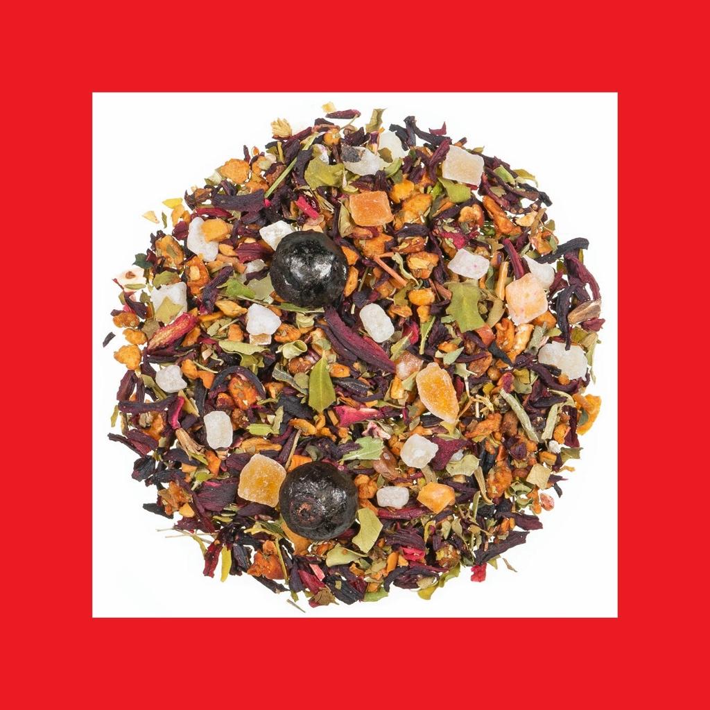 Cold Brew Kirsch Cassis Früchtetee natürlich aromatisiert